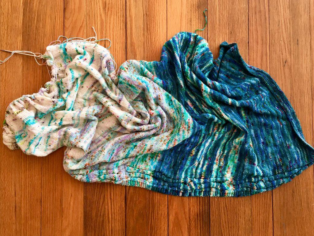river of dreams, knitting,