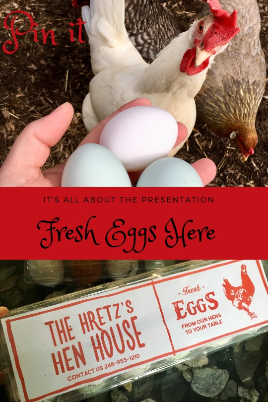 egg packaging and fresh eggs for sale